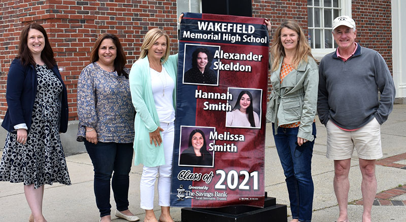 PHOTO: The Savings Bank helps honor the WMHS Class of 2021