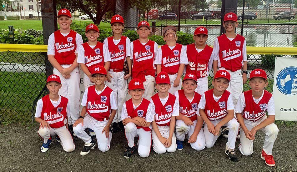 Melrose Little League All-Stars on a roll