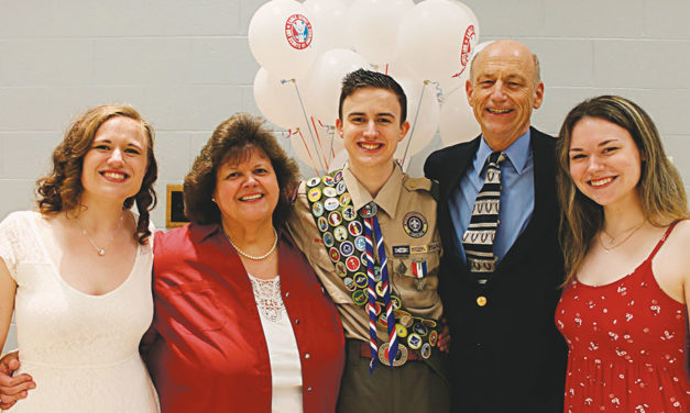 Newest Eagle Scout Christopher Nearing feted by troop, dignitaries at Court of Honor
