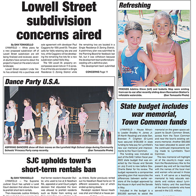 Front Page: July 14, 2021