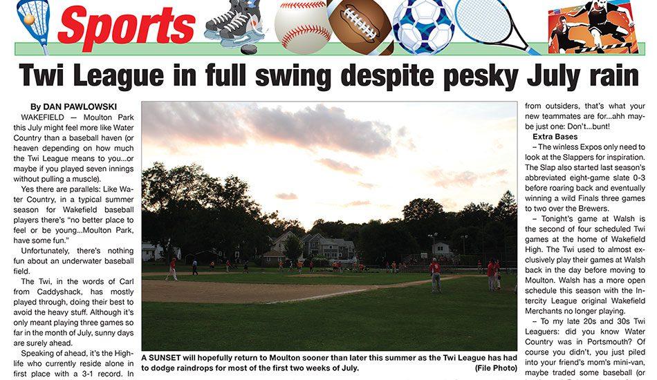Sports Page: July 14, 2021