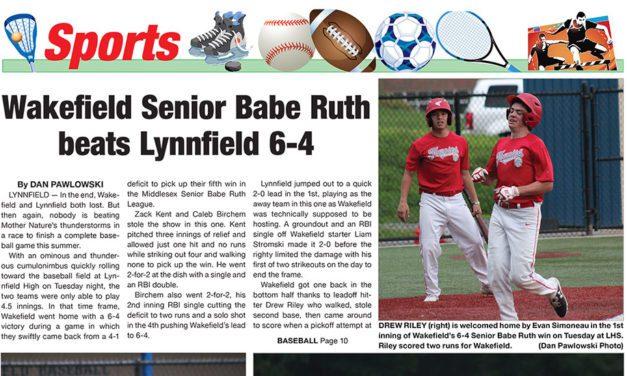 Sports Lead: July 29, 2021
