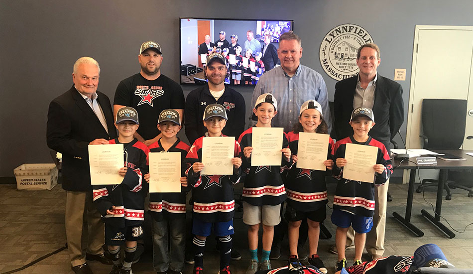 Select Board recognizes youth hockey teams