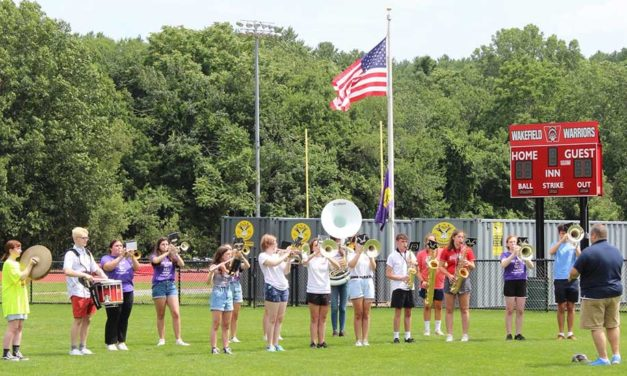 Wakefield High softball field  officially dedicated to Meghan Burnett